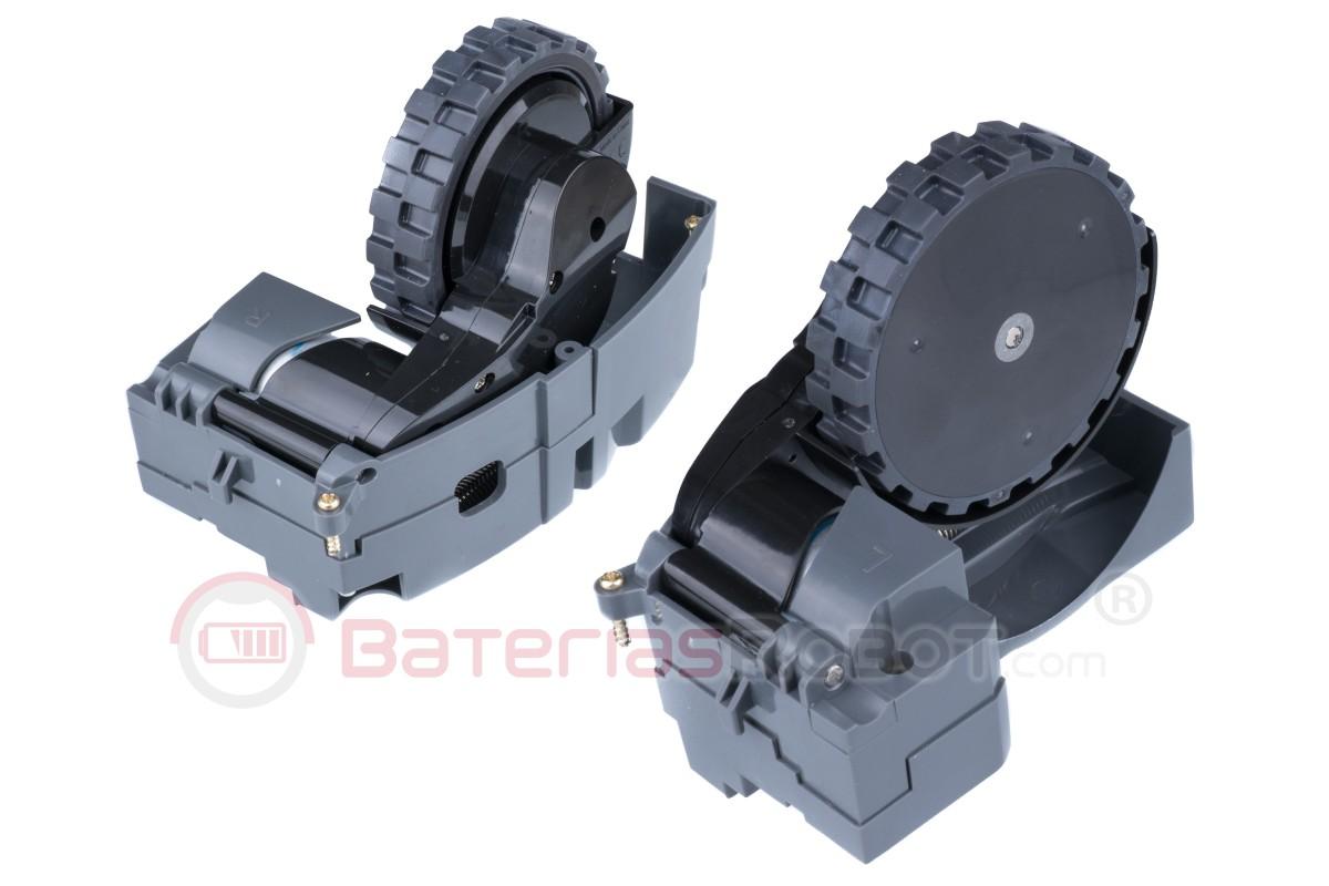 700 600 MIRTUX Ruota anteriore migliorata con vite compatibile con Roomba 500 800 e 900 aspirapolvere robot compatibile con iRobot Roomba Accessori e Ricambio Migliorato