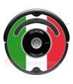 Bandiera d'Italia. Adesivo per Roomba - Serie 500 600 / V1