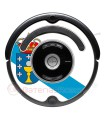 Galician flag. Sticker for Roomba - 500 & 600 series