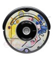 Kandinsky Abstract 1. Vinyl for Roomba 500 and 600