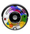POP-ART Kandinsky circles. Vinyl for Roomba - Serie 500 600