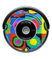 2 abstrato Kandinsky. Vinil para iRobot Roomba - 500 600 série