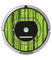 Bambú .Vinilo decorativo para Roomba iRobot - Serie 700, 800
