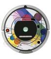 POP-ART Cercles Kandinsky. Vinyle pour Roomba - Série 700