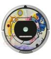 Astratta di Kandinsky 1. Vinile per iRobot Roomba - Serie 700