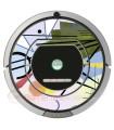 Kandinsky Abstrait 3. Vinyle pour Roomba iRobot - Série 700